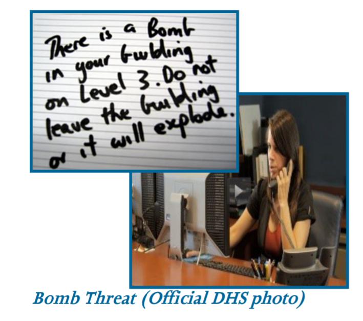 Thumbnail for Bomb Threat Preparedness and Response (ARW-903-W)