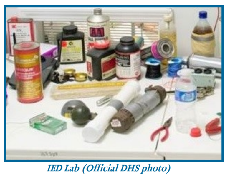 Thumbnail for Homemade Explosives and Precursor Chemicals Awareness for Public Safety (ARW-349-W)