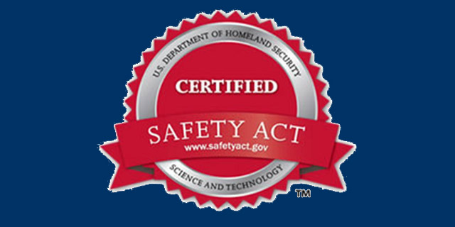 Image of a Certified Safety Act Seal