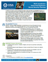 Multi-Jurisdiction Improvised Explosive Device Security Planning Fact Sheet