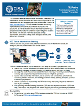 TRIPwire (Technical Resource for Incident Prevention) Fact Sheet